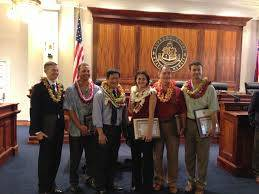 Photo of honorees from the Pro Bono Celebration 2012, including Gavin Doi, attorney with Doi/Luke, Attorneys at Law. Gavin is a divorce and family law attorney in Honolulu, Hawaii